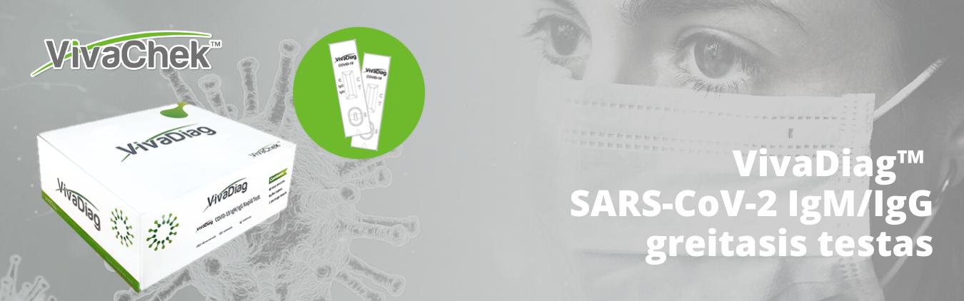 VivaDiag™ SARS-CoV-2 IgM_IgG greitasis testas